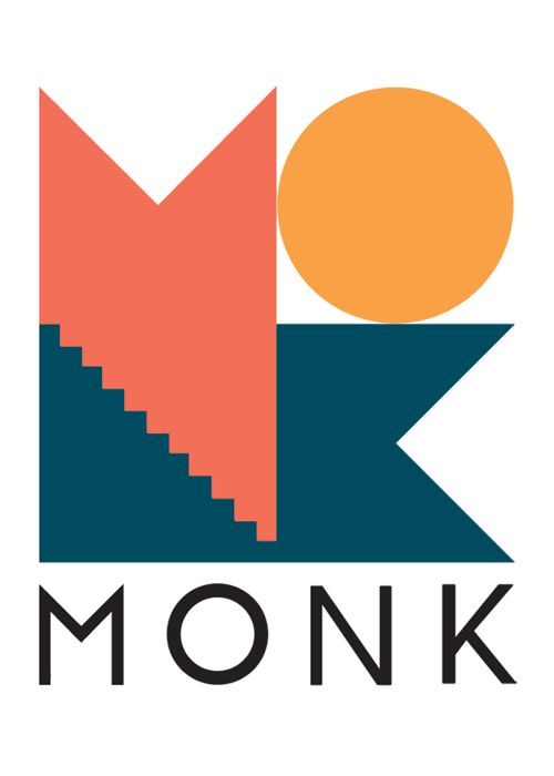 Monk club logo design @monkclub