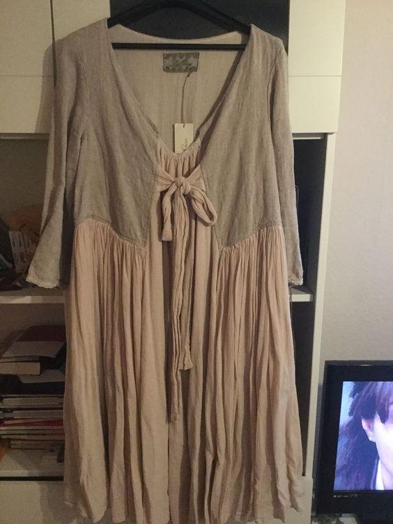 les ours Kleid neu Ein Traum In Leinen und Baumwolle   eBay