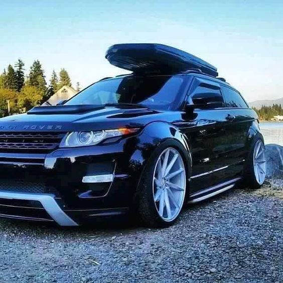 range rover evoque r5 2015 stance modified slammed. Black Bedroom Furniture Sets. Home Design Ideas
