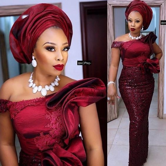 Wanna Be a Trendsetter- Checkout These Eye-popping Aso-Ebi Styles - Emmanuel's Blog