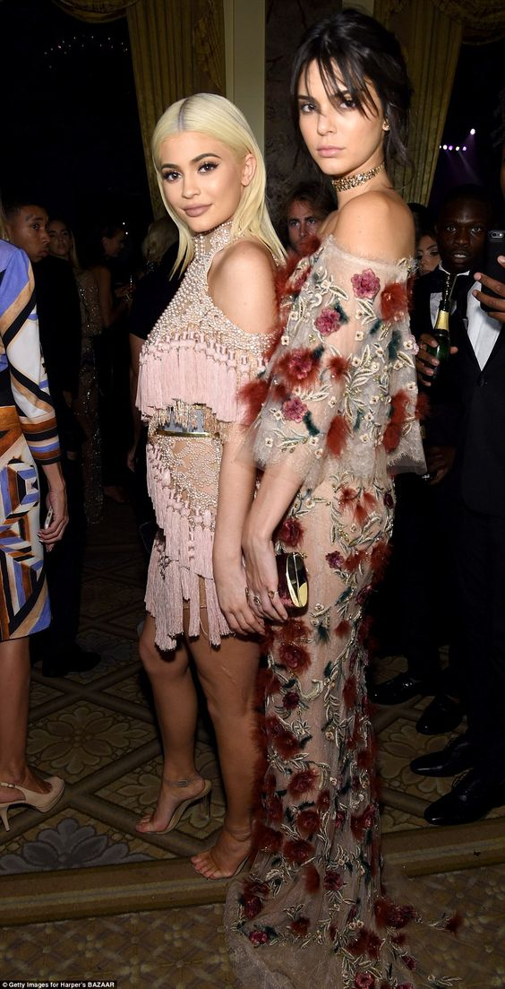 Close sisters: Kylie found her older sister, Kendall Jenner, and the pair held…