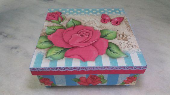 Caixa para joia/bijuteria - www.elo7.com.br/esterartes