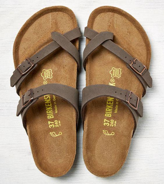 Black, Mocha, or Stone colored Birkenstock Mayari Sandals size 8 $94.95 https://www.birkenstockusa.com/products/women/sandals