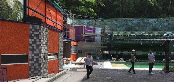 Veja a primeira foto da casa da próxima edição do BBB em obras