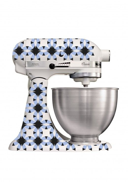 Amir Slama cria estampa para KitchenAid