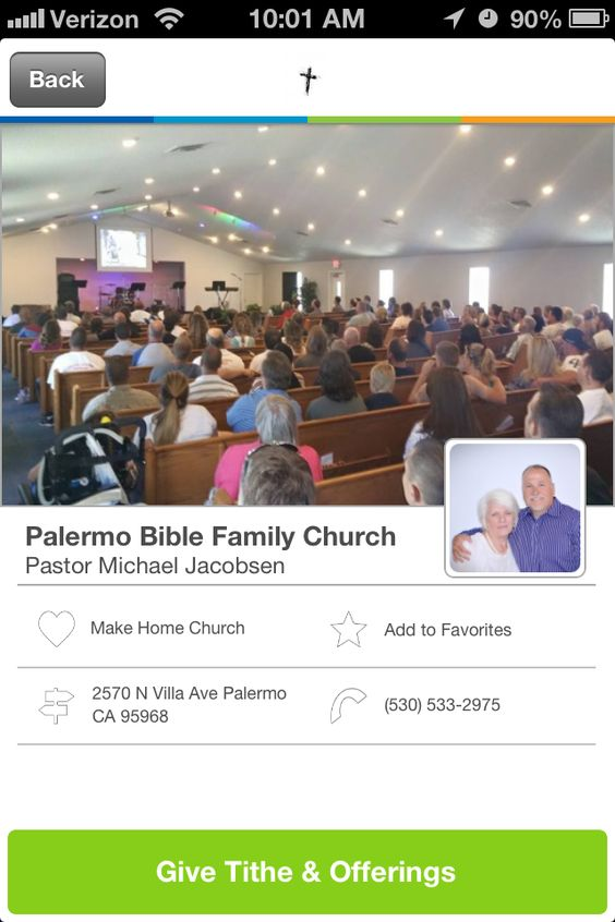 Palermo Bible Family Church in Palermo, California #GivelifyChurches