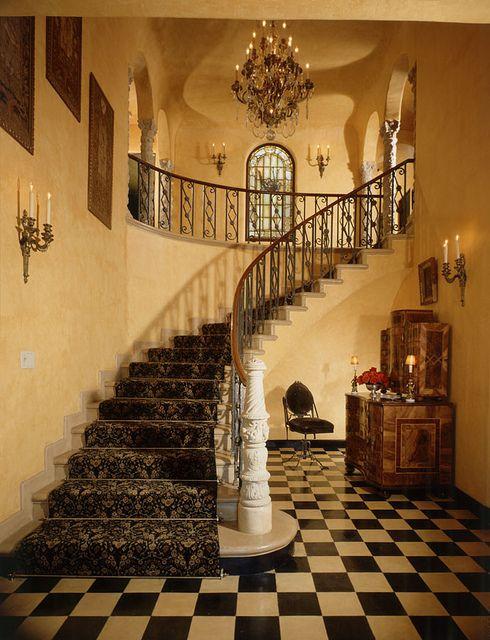 Old World Interiors And Floors On Pinterest