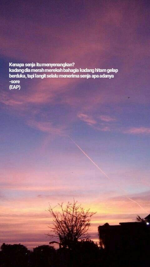 Mengapa Senja Itu Menyenangkan Dengan Gambar Hidup Kata Kata