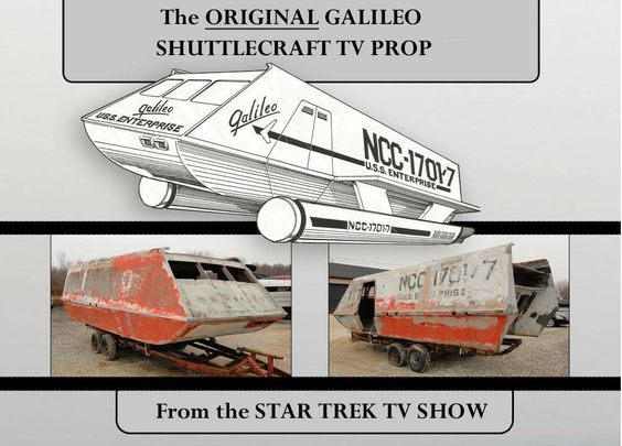 For Sale- One Gently Used Shuttlecraft