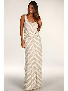 Ella Moss Chevron Stripe Maxi Dress