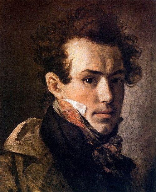 relishinrussia:    Orest Kiprensky (1782-1836), self portrait.