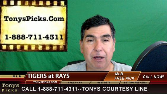 Detroit Tigers vs. Tampa Bay Rays Pick Prediction MLB Baseball Odds Prev...