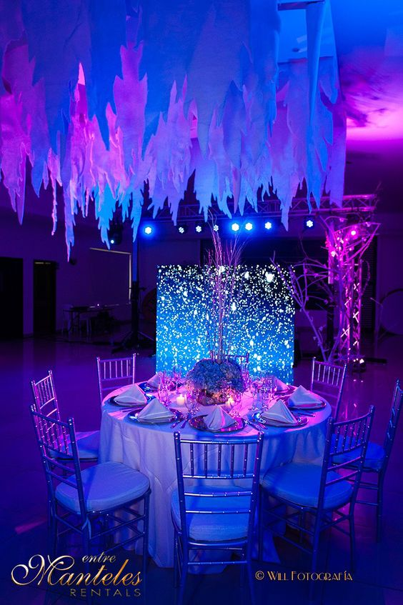 Especial de 15 a os ideas para tu fiesta frozen diy for Decoracion quinceanera