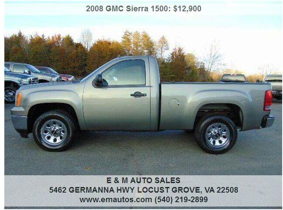 2008 Gmc Sierra 1500 Work Truck In 2020 Gmc Sierra 1500 Gmc Sierra Work Truck