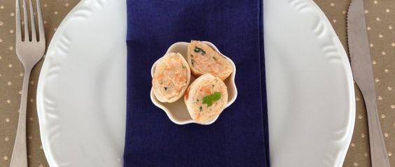 Patê de Frango com Molho Rose - SeEUfizVCfaz