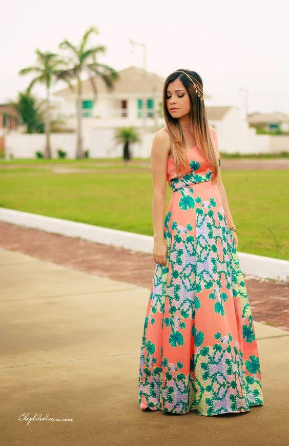 Inspiration  Blog da Lê-Moda e Estílo: No look orange dress