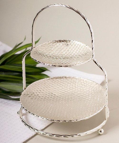 صحن تقديم حلويات Wicker Baskets Wicker Decorative Wicker Basket