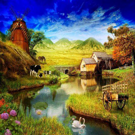 Image gallery hermosos paisajes naturales for Pinturas bonitas para casas