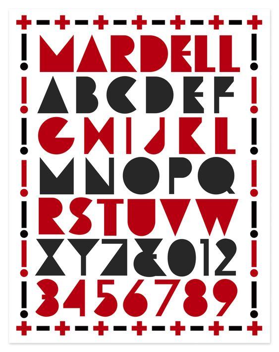 Type Design — Louise Fili Ltd