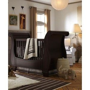 Precious baby boy room! Love the crib placement