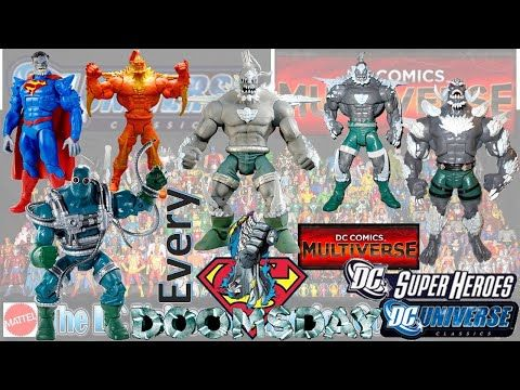 Every Dc Doomsday Dc Multiverse Dc Universe Classics Comparison List Youtube In 2020 Dc Universe Doomsday Classic