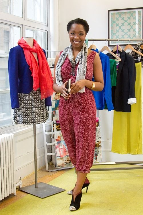 Tiffany Davis, Everywhere Editor at DailyCandy, has eclectic style