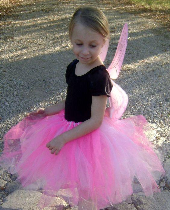 www.BellisBoutique.info butterfly or fairy costume  #Pink #tutu. #Butterfly #Fairy #pixy  #Bellis #Boutique  #little #Girl #dress up #fall #Tulle #Halloween @Ashley Bera $20.00
