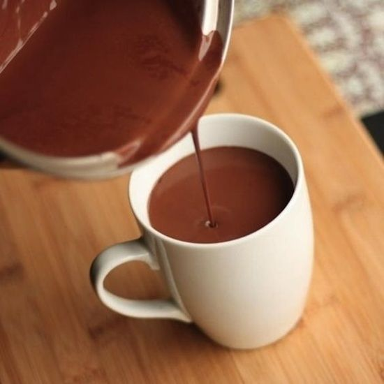 Receita: chocolate quente fit | Bisbilhoteiras