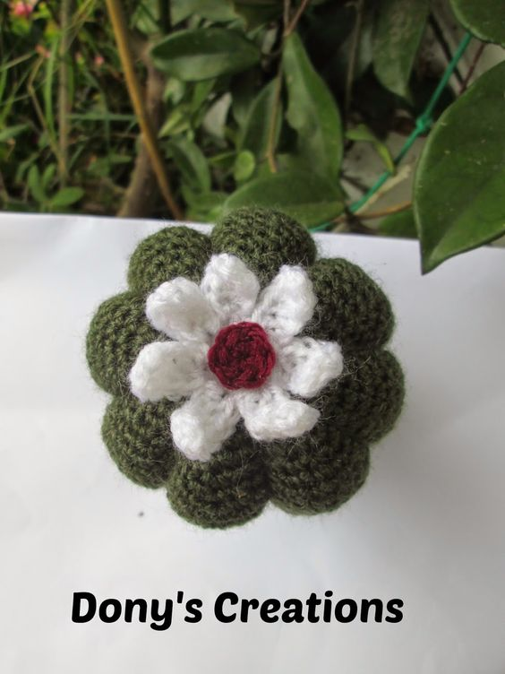 Cactus zucca metodo di Created by Mina _ pattern free italiano http://donyscreations.blogspot.it