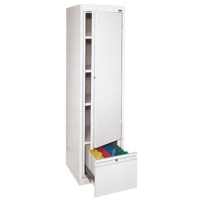Sandusky System Series 1 Door Storage Cabinet Finish: | Products ...