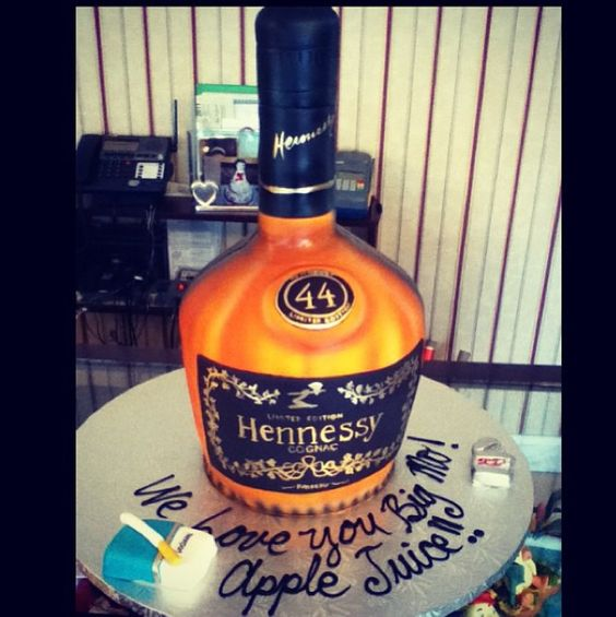 Hennessy cake. | Extravagant Cakes | Pinterest | Sweet and ...