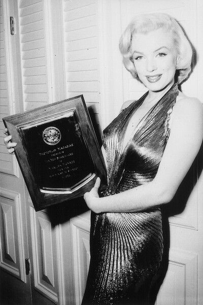 Image result for marilyn monroe photoplay awards