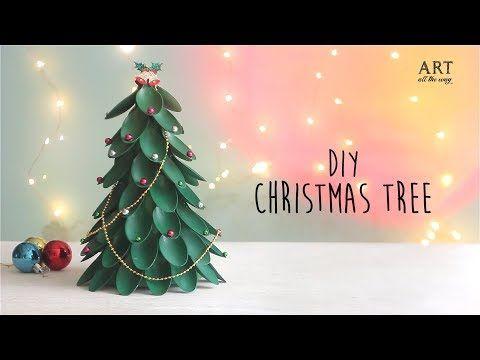 Diy Christmas Tree Recycling Plastic Spoons Craft Youtube Diy Christmas Tree Plastic Spoon Crafts Easy Christmas Diy