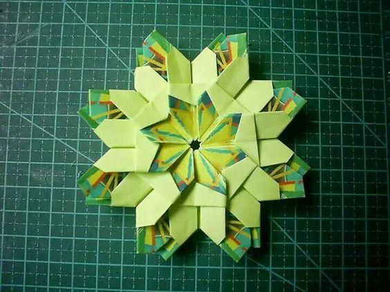 Mandala origami bela flor  Joana Lourenço