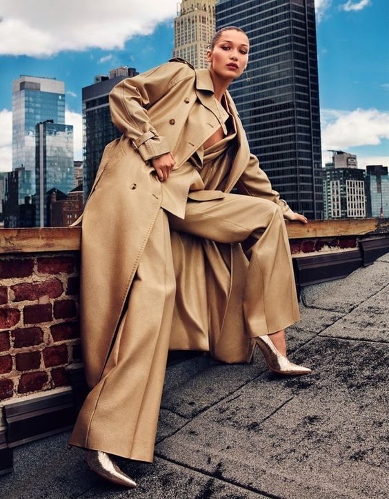 Photography: Alexei Hay atAtelier Management. Styled by: Wei Tian. Hair: Brent Lawler. Makeup: Seong Hee Park.Model: Bella Hadid.