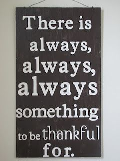There is always...