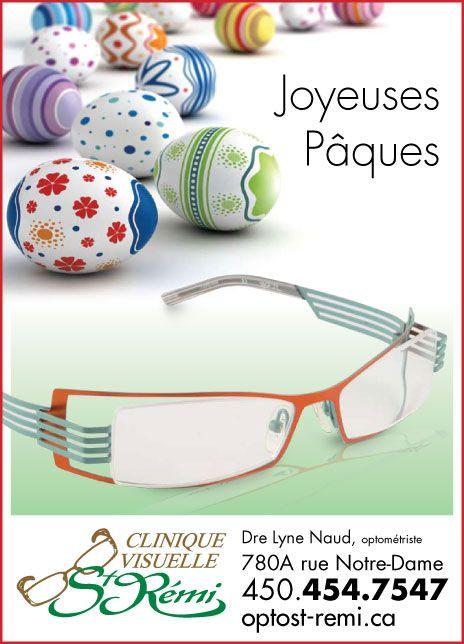 Clinique visuelle St Rémi Publipostage pour M2L Marketing Conception, production