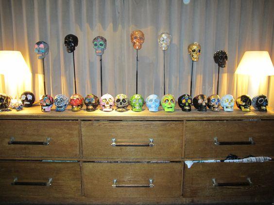 Day of the Dead #Skull Workshop - 2nd Nov - by @LaurenBakerArt http://skullappreciationsociety.com/day-dead-workshop-lauren-baker/
