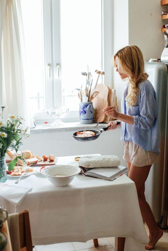 l'abitudine della prima colazione