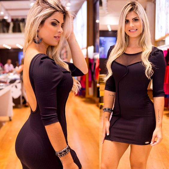 "Miss & Misses no Instagram: ""Bom dia amores! Um dress preto é um item essencial pro nosso guarda-roupa né? Que tal esse look maravilhoso que a linda @julianunesbarboza usou?  #amomissmisses #missemisses #missmissesmodas"""