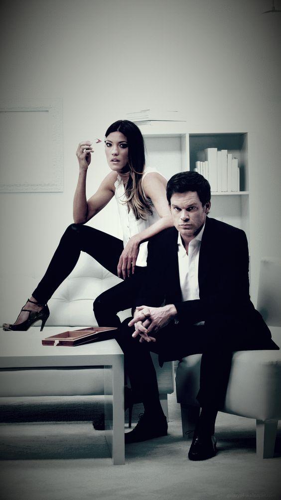 Dexter and Deb Morgan Poster