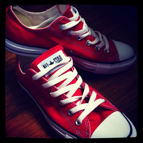 ***Red converse :)