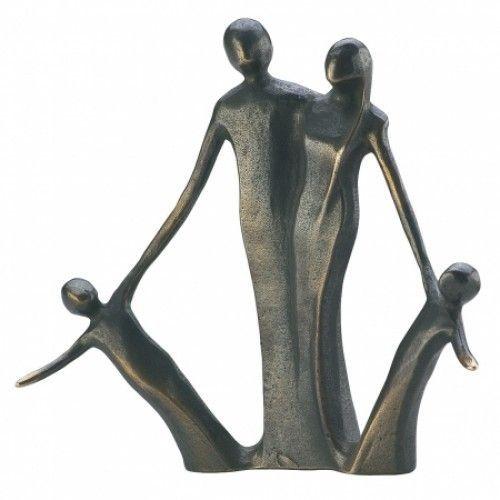Liebespaar Skulptur Figur Holzfigur Love Harmonie Liebe Dekoration Holz Kunst