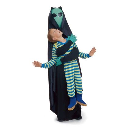 Costume alien encounter unique costume for kids diy for Unique toddler boy halloween costumes