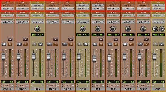ventana mezcla ruteos, 5 herramientas de pro tools para produccion musical, http://promocionmusical.es/produccion/:
