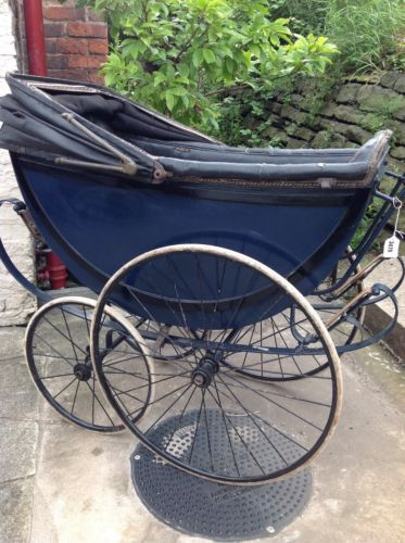 1920 Vintage Osnath baby carriage; Jack Hampshires childhood pram in Baby, Pushchairs, Prams & Accs., Pushchairs & Prams | eBay