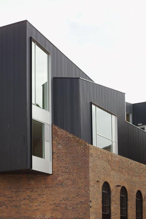 Shoreham St Sheffield Project Orange Brick Architecture Zinc Cladding Exterior Wall Cladding