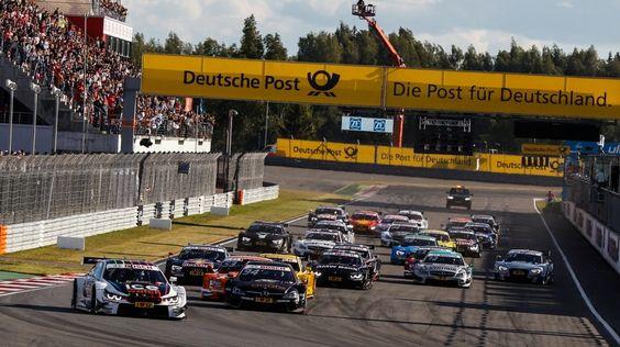 DTM 2015 Moscow Raceway - Start