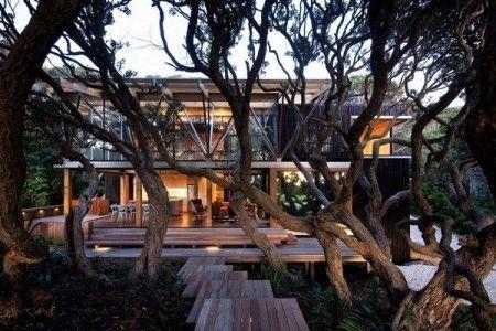 Under Pohutukawa Residence