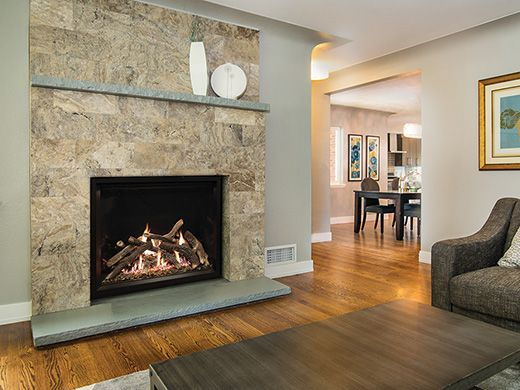 Truflame Fireplaces Direct Vent American Hearth Fireplace